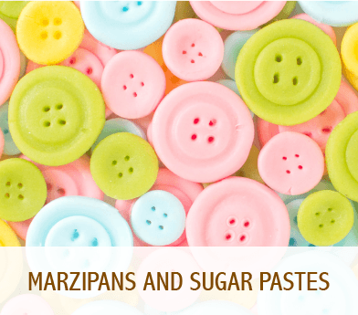 Marzipans and sugar pastes