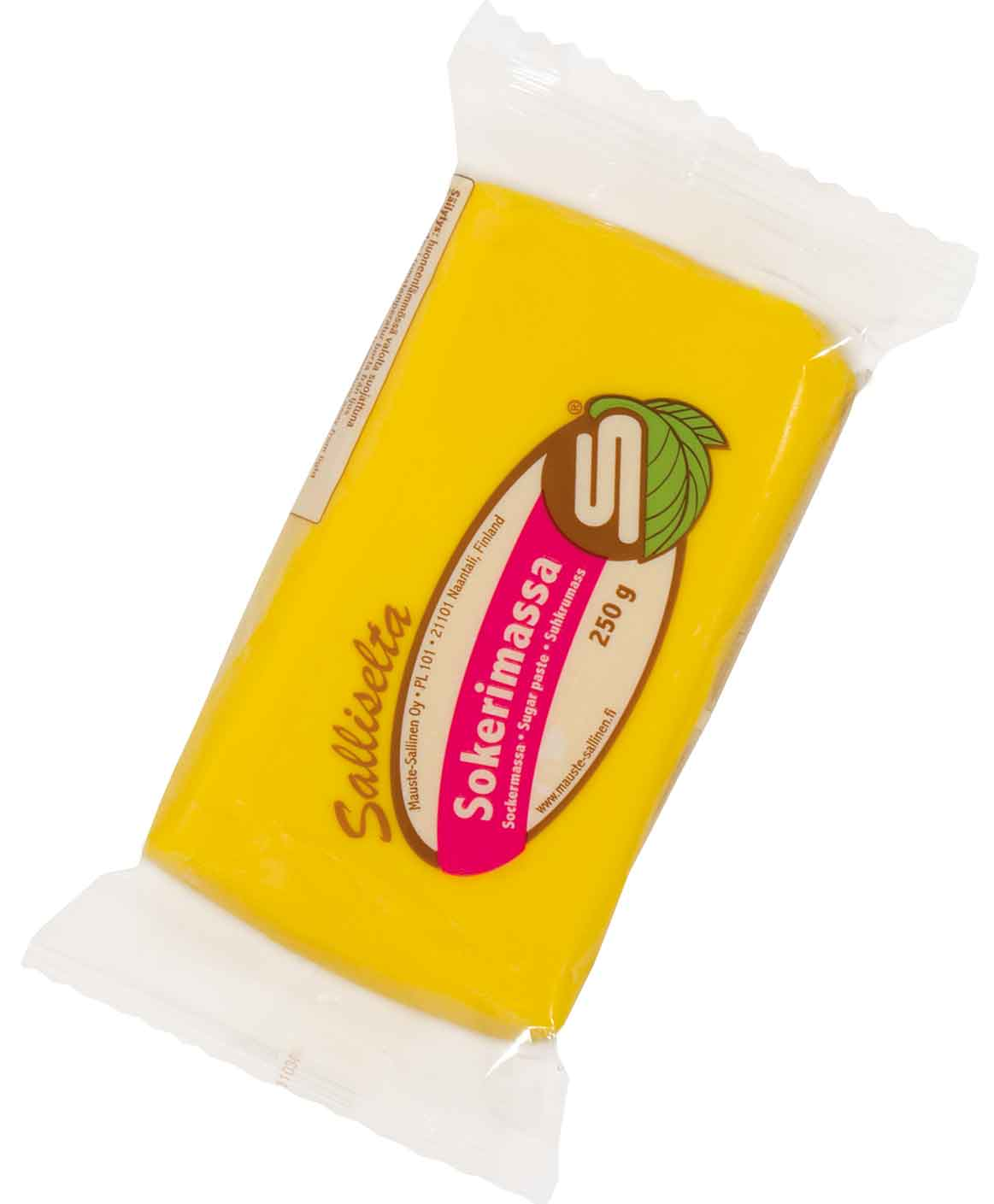 Sugar paste yellow 250g